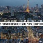 La France enregistrera en 2020 l'une des plus fortes chutes du PIB selon l'OCDE