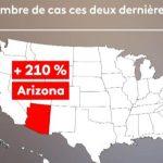 Etats-Unis: le coronavirus repart à la hausse dans 21 Etats…
