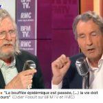 """Didier Raoult: """"Mr Bourdin, ne faites pas de déductions foireuses (….) Vous écoutez ce que je vous dis ou sinon je vais me lever et m'en aller !"""""""