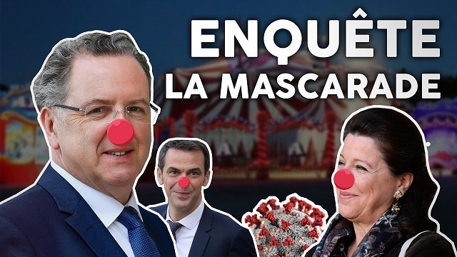 """Florian Philippot: """"Commission d'enquête sur le coronavirus : LA TERRIBLE MASCARADE !"""" - Infos"""