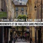 La France se prépare à une vague de licenciements et de faillites sans précédent