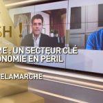 Olivier Delamarche Dans C'EST CASH: «Tourisme: un secteur clé de l'économie en péril !»