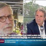 """Patrice Blanc, Président des Restos du cœur: """"On est face à des situations dignes de la crise de 1929,… Ca n'a rien à voir avec la crise de 2008, c'est bien pire !"""""""