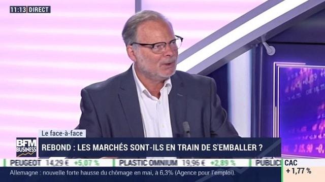 """Philippe Béchade: """"Les banques centrales créent des liquidités d"""