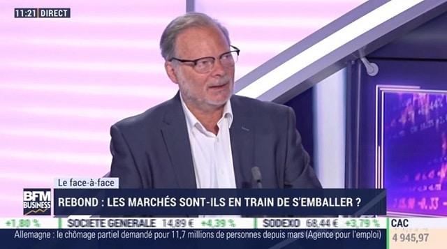 """Philippe Béchade: """"Les plans de relance ne créent pas de clients, ni de demande !"""""""