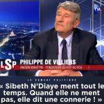 """Philippe de Villiers: """"Dès que Sibeth N'Diaye parle, elle ment ! Et quand elle ne ment pas, c'est pire,… elle dit une connerie !!"""""""