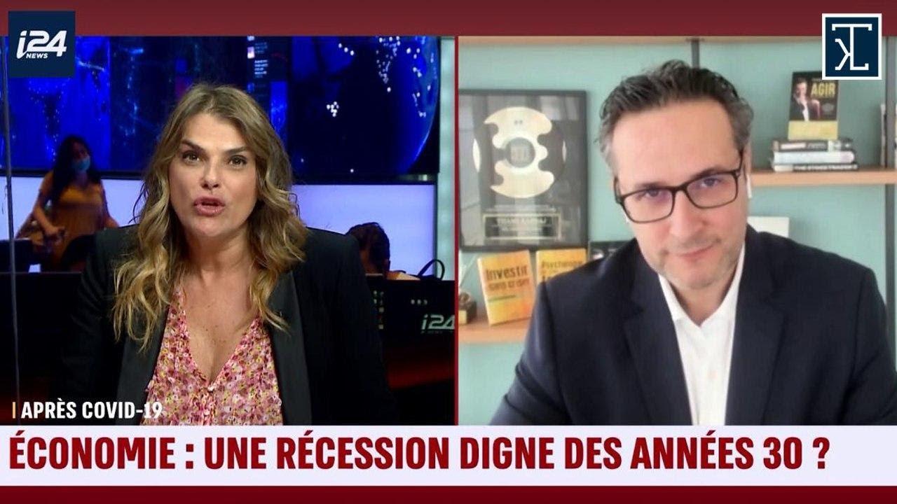 """Thami Kabbaj: """"Selon moi, nous assistons probablement à la PIRE CRISE depuis les ANNÉES 30 !"""" - Thami Kabbaj invité spécial de Valérie Pérez sur I24 News"""