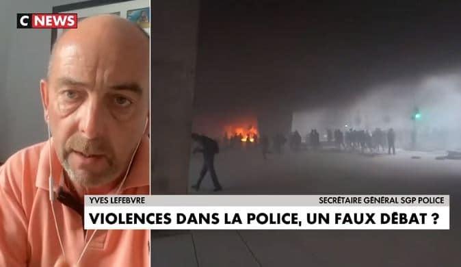 """Yves Lefebvre (SGP Police): """"On est à la veille d'un embrasement dans les banlieues. On sent que la cocotte minute est prête à exploser à tout moment !"""""""
