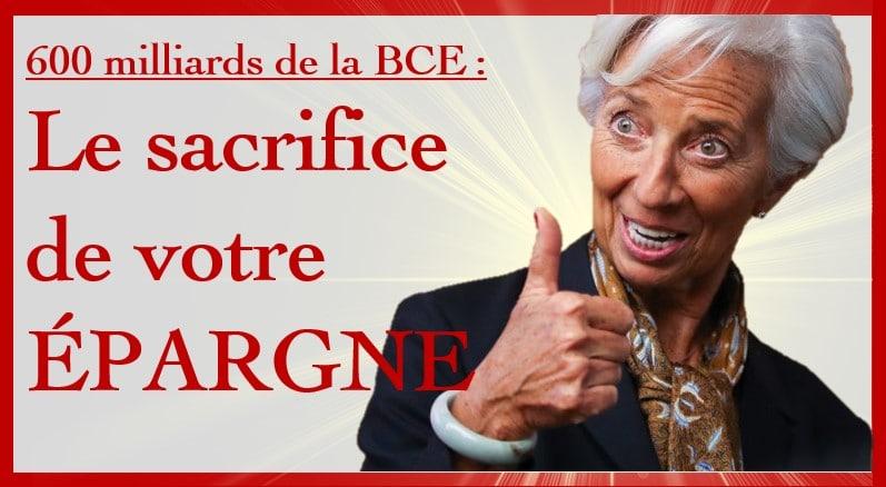 """Guy de La Fortelle: """"Les 600 milliards de planche à billets de la BCE sortent directement de votre poche ! C"""