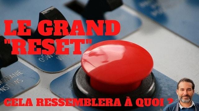 « A quoi cela peut ressembler un Grand Reset ? » L'édito de Charles Sannat
