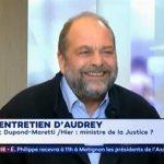 Eric Dupond-Moretti: «Moi ministre de la Justice ? Je n'accepterai jamais un truc pareil, parce que ce n'est pas mon métier ! Je n'en ai pas les compétences…»
