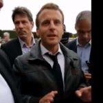 Emmanuel Macron pris à partie par les «gilets jaunes» dans le jardin des tuileries