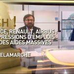 Air France, Renault, Airbus: des suppressions d'emplois malgré des aides massives… Avec Olivier Delamarche dans C'est Cash !