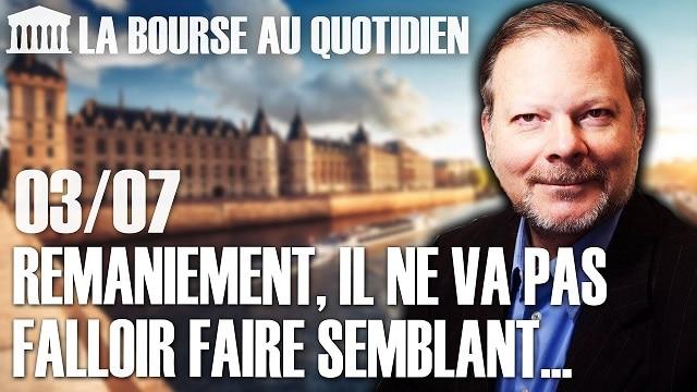 """Philippe Béchade – Séance du Vendredi 03 Juillet 2020: """"Aux USA, ce scénario de reprise en V, vous pouvez carrément l"""