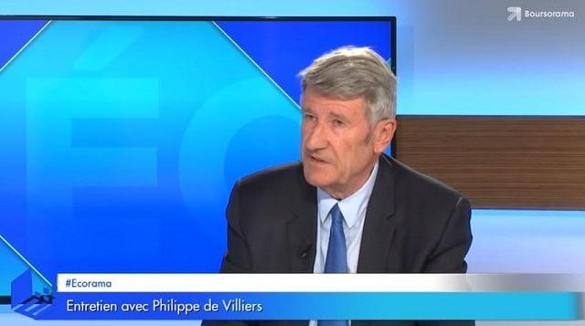 """Philippe de Villiers: """"La seconde vague ne sera pas que sanitaire mais surtout économique !"""""""