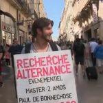 Bordeaux: il se déguise en homme sandwich pour trouver une formation en alternance