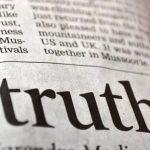 Dire la vérité est un acte révolutionnaire !