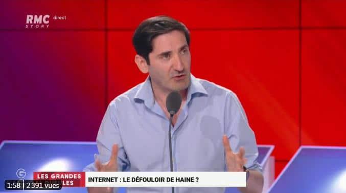 """Tristan Mendès France: """"Les médias et le politique ne sont pas des anges ! Ils commettent aussi des erreurs et relaient de fausses informations, de mauvaises informations !"""""""