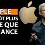 APPLE bientôt plus riche que la France et les GAFAM provoquent une bulle boursière sans précédent !