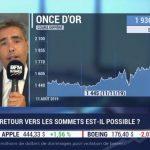 """Benjamin Louvet: """"Le cours de l'or pourrait atteindre de nouveaux plus hauts d'ici 6 à 12 mois avec un objectif autour des 2400$ !"""""""