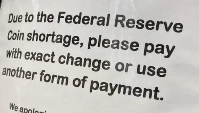 Aux Etats-Unis, les pièces ne circulent plus avec la pandémie. Un problème pris au sérieux par la Fed !