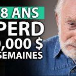 Se Ruiner en bourse ! Ce retraité de 78 ans, professeur d'université, a Perdu 700 000 $ en 2 semaines !!