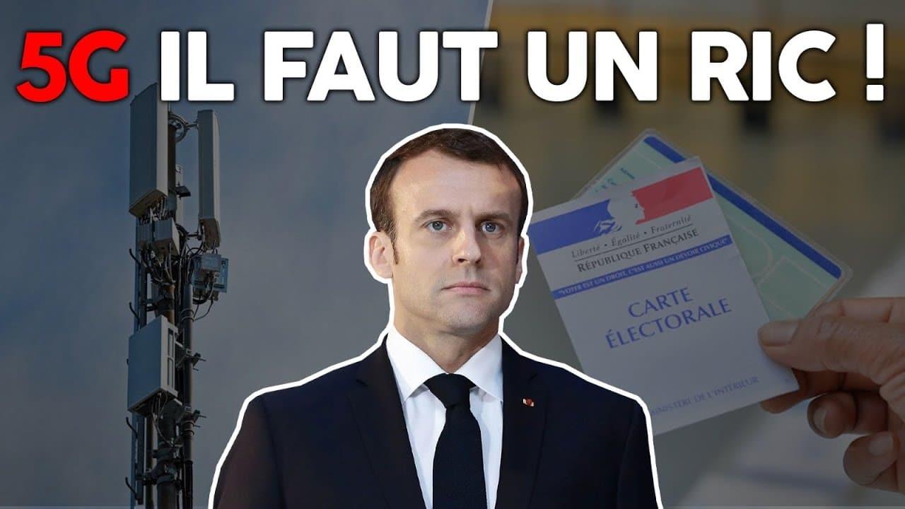 """Florian Philippot: """"Réseau 5G: il faut un référendum d'initiative citoyenne !... Un RIC !!"""""""