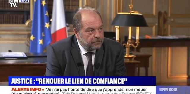 """""""Un scandale d'Etat"""": Éric Dupond-Moretti dans le viseur des magistrats !"""
