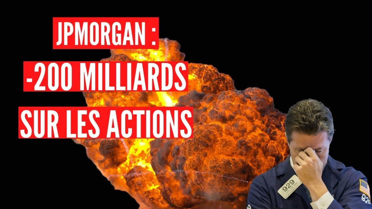 La JPMorgan prévoit des flux vendeurs sur les marchés actions pour l