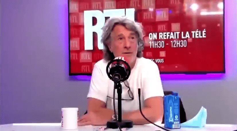 """Cluzet à propos de Bigard: """"Je ne comprends pas comment on peut donner une heure d'antenne, en direct, à un abruti total"""""""