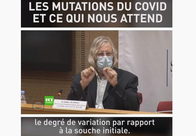 """Didier Raoult: """"Il se passe quelque chose avec ce virus qui en fait quelque chose de différent"""""""