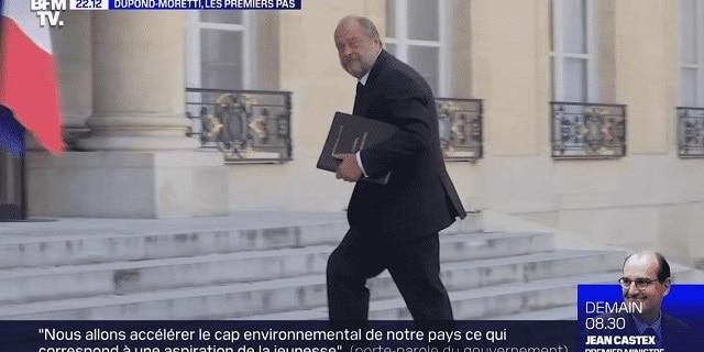 """Eric Dupond-Moretti souhaite que """"la justice soit désormais totalement filmée et diffusée"""""""