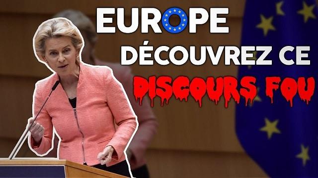 """Florian Philippot: """"L'incroyable discours, délirant, fou,... de la Présidente de la Commission européenne !"""""""