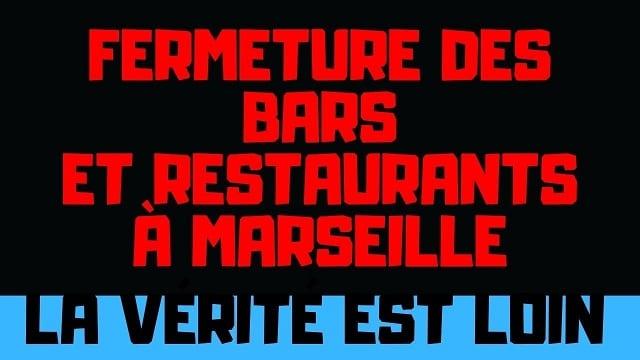 Fermeture bars et restaurants à Marseille: L