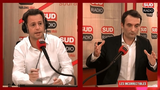 """Florian Philippot: """"On n'est évidemment plus le pays de la liberté d'expression !"""""""