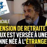 """Fraude sociale: """"une pension de retraite sur deux est versée à une personne née à l'étranger"""""""