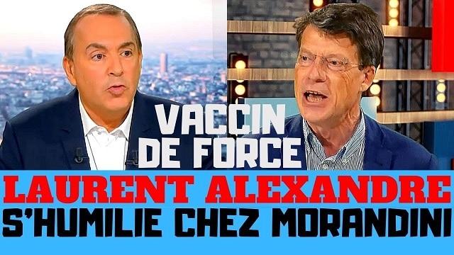 Laurent Alexandre s'humilie chez Morandini sur le vaccin Covid-19