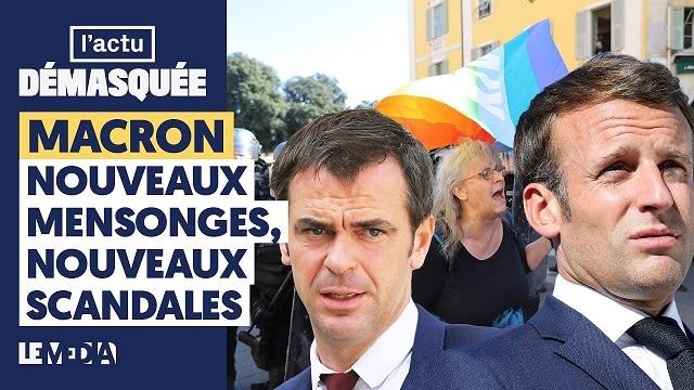 Macron: nouveaux mensonges, nouveaux scandales
