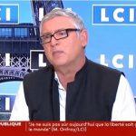 """Michel Onfray: """"La guerre civile est à nos portes, je suis sidéré qu'on ne puisse pas le dire"""""""