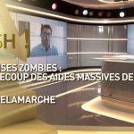 Entreprises zombies: le contrecoup des aides massives de l'Etat ?… Avec Olivier Delamarche dans C'EST CASH !