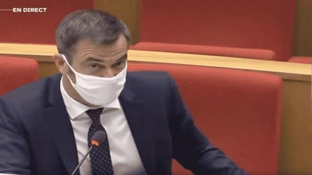 Lors de l'audition du sénat, Olivier Véran reconnait que les chiffres COVID sont gonflés.