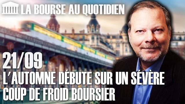 """Philippe Béchade – Séance du Lundi 21 Septembre 2020: """"L"""