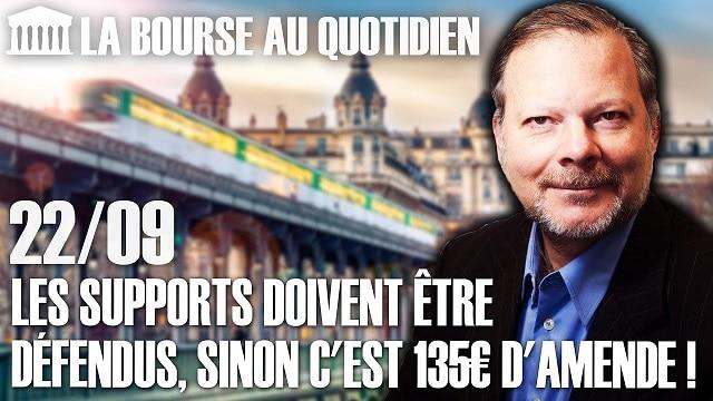 """Philippe Béchade – Séance du Mardi 22 Septembre 2020: """"Les supports doivent être défendus, sinon c"""