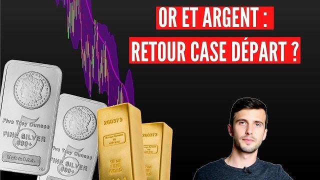 Or et Argent: Fin de la hausse et Retour à la Case départ ? Voilà mon avis...