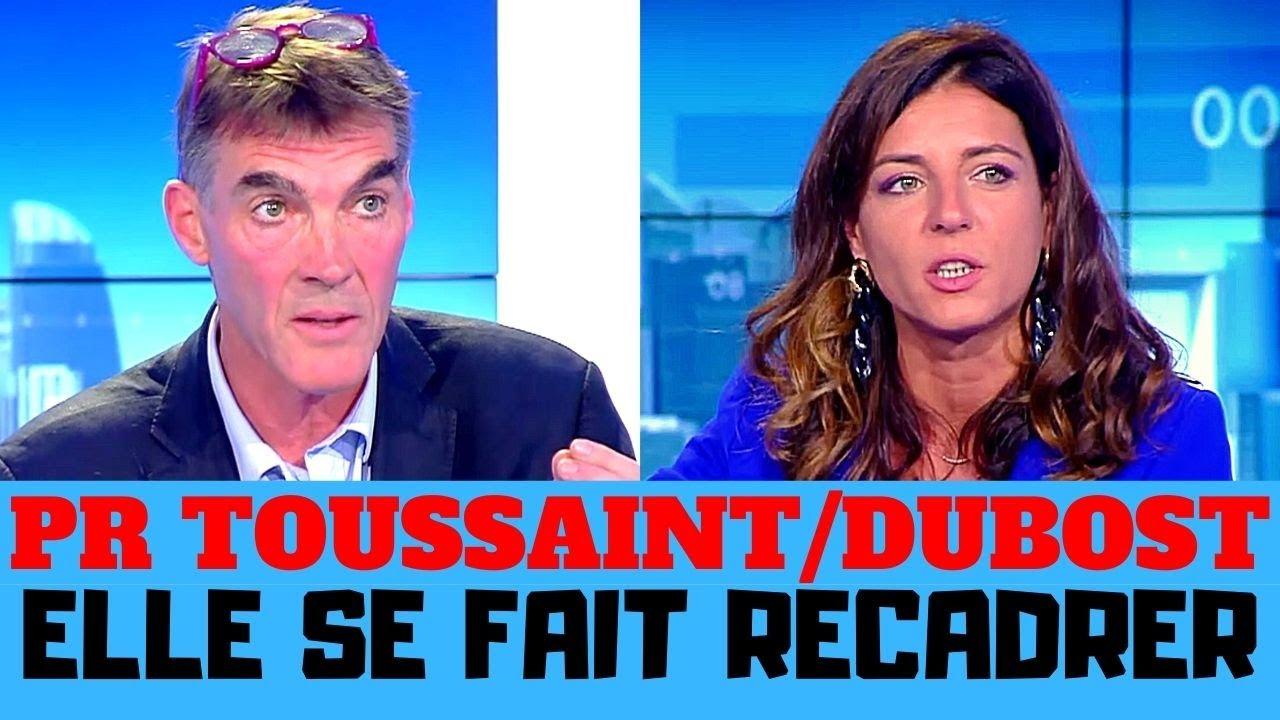 Professeur Tousssaint / Coralie Dubost, la compagne de Véran se fait Recadrer !