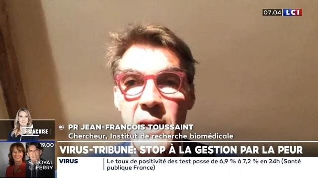 Le Professeur Toussaint réagit à la tribune de 166 médecins et chercheurs dénonçant la peur panique (Covid)