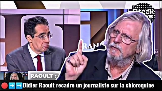 Didier Raoult recadre un journaliste en plein direct sur LCI !