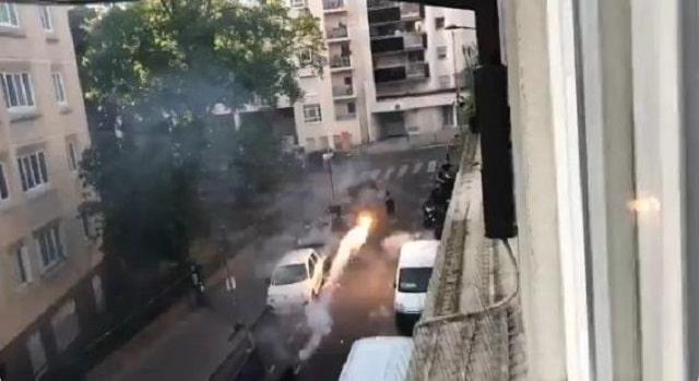 Des tirs de mortier en plein Paris en plein jour. La sauvagerie partout...