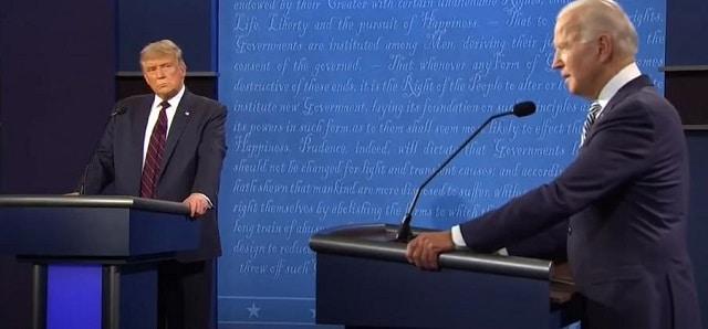 Hier, le Premier débat entre Trump et Biden dans un climat de reconfinement. L'économie devait être au centre du débat... Raté !