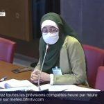 Une responsable de l'UNEF porte un voile lors d'une audition à l'Assemblée, des députés quittent la salle